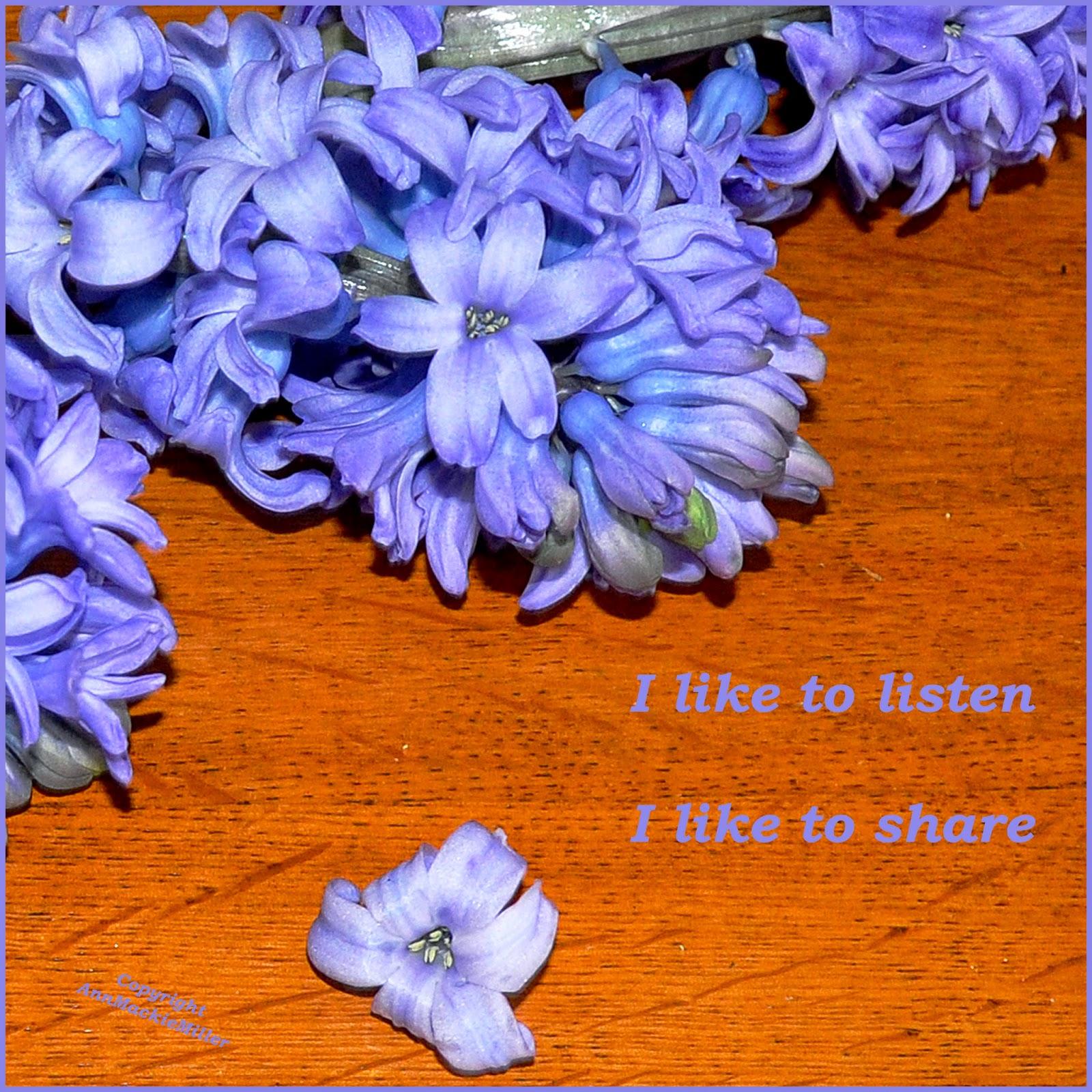 affirmation card - listen