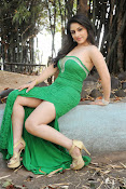 Ankita Sharma Hot photo shoto in Green-thumbnail-19