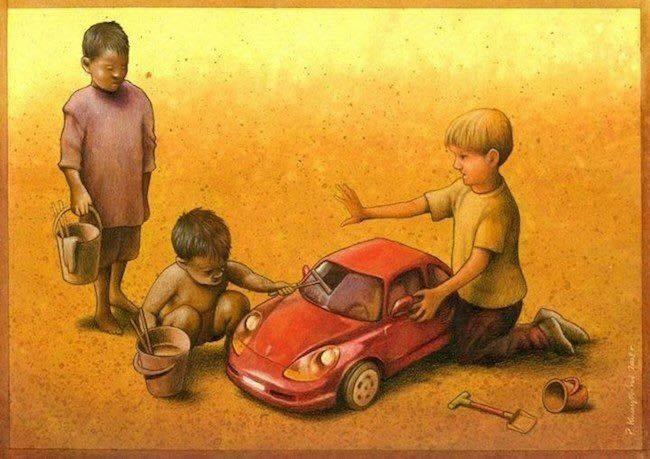 Perbedaan sosial Realita Kehidupan