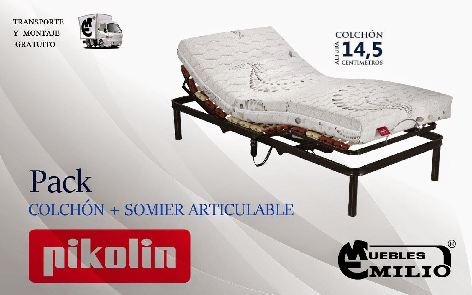 Pack Colchón Confortcel + Somier Futurlam Pikolin | Blog sobre ...
