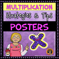 Multiplication Tips and Strategies Posters