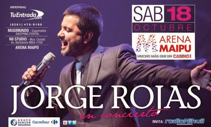 JORGE ROJAS EN CONCIERTO, MENDOZA!!
