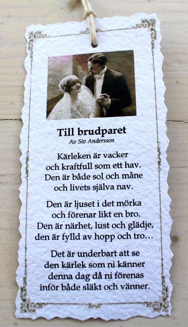 vacker dikt om äktenskap