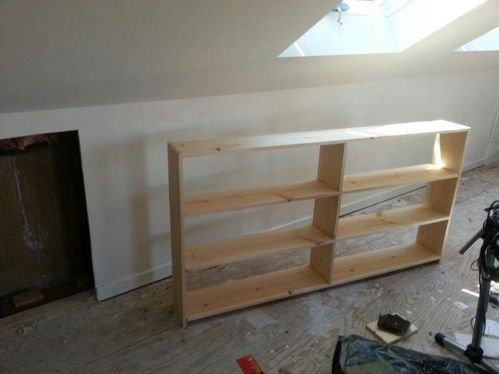 Конструкция шкафа с полками