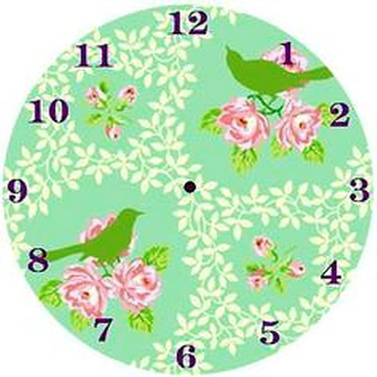 El jardin de los sue os relojes para imprimir 2 parte - Hacer un reloj de pared ...