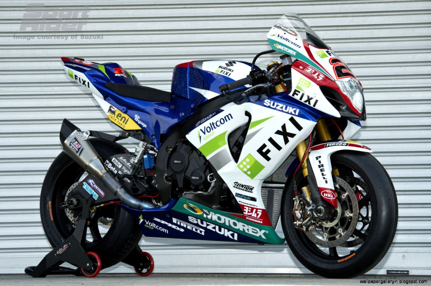Suzuki World Superbike Team HD 2416 Wallpaper