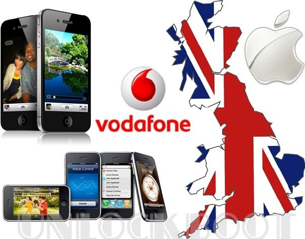 Unlock Vodafone iPhone 4 4.11.08 baseband