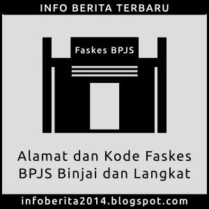 Alamat dan Kode Faskes BPJS Binjai dan Langkat
