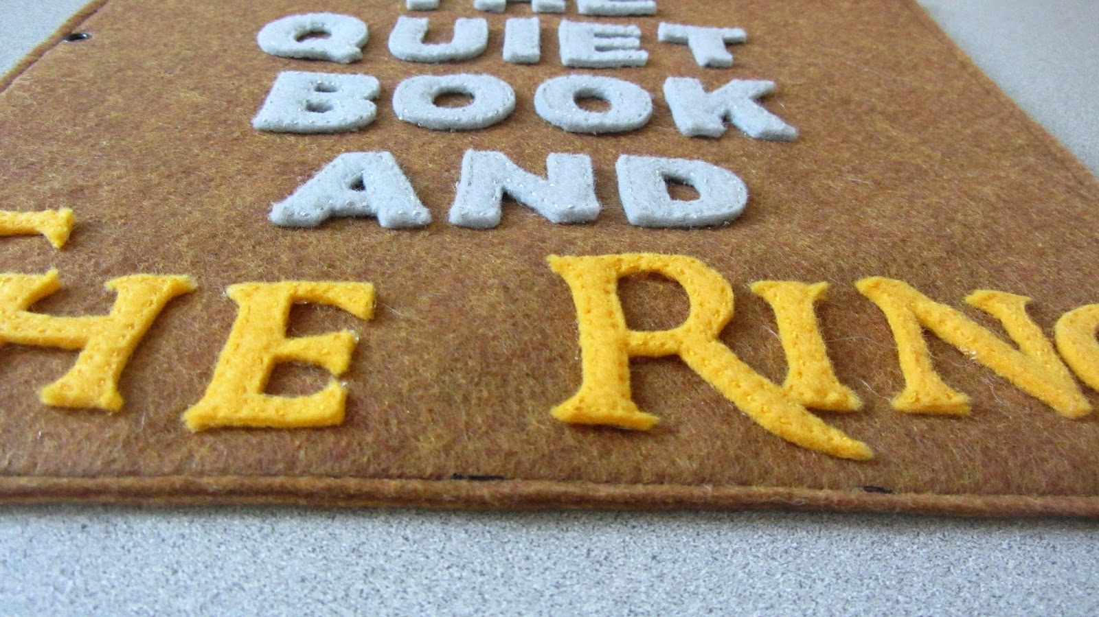 julies blog lord of the rings quiet book
