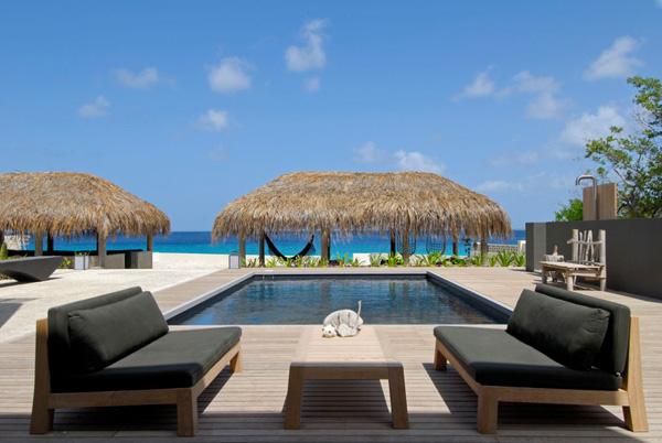 Modern Caribbean Architecture a tropical villas in the caribbean cube architecture - home design