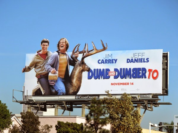 Dumb and Dumber To movie billboard