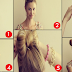 The Bow Bun HairStyle Tutorial For Long Hair Step By Step