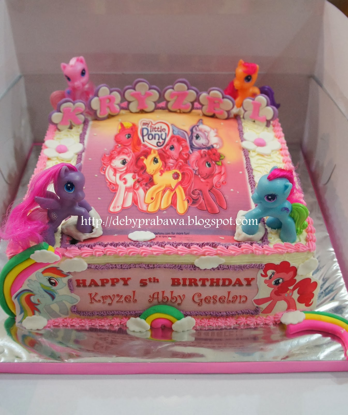 Butterfly Cake My Little Pony Photo Cake