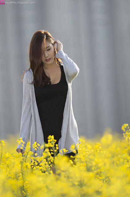 5 Another Kim Ha Yul Outdoor- very cute asian girl - girlcute4u.blogspot.com
