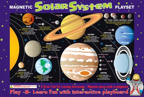 Magnetic Solar System Playset by Ata-Boy