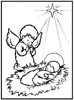 imagens para pintura de anjos natalinos