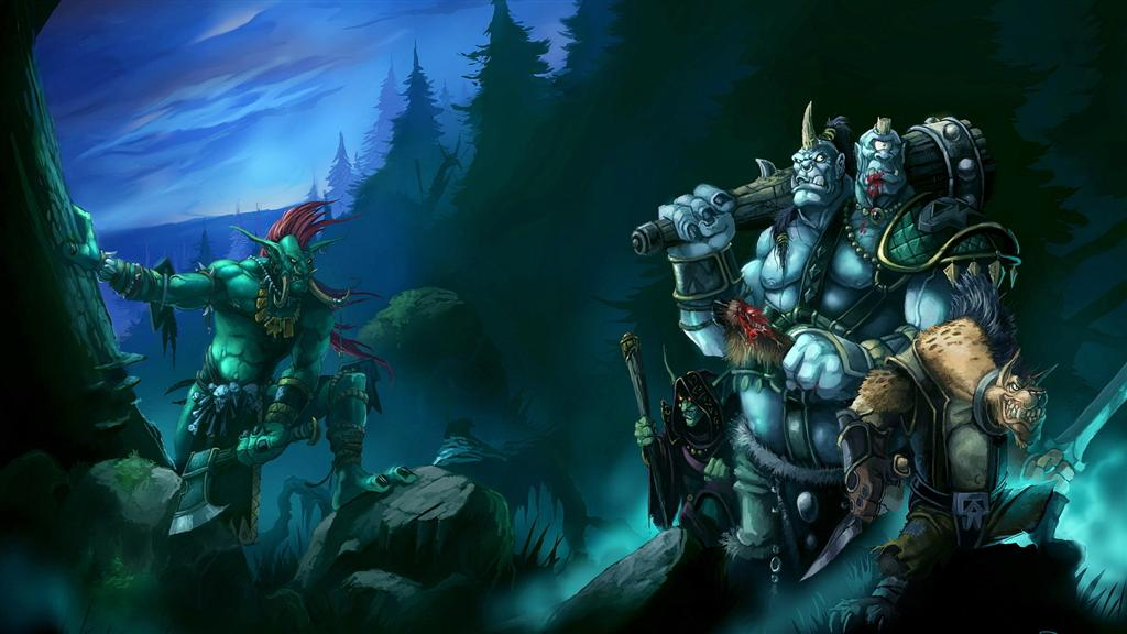 World of Warcraft HD & Widescreen Wallpaper 0.174731323815962