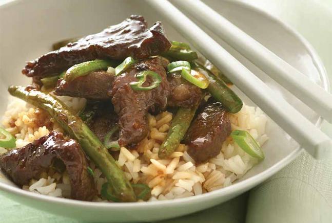 Beef Green Bean and Scallion Stir Fry | Healthy Beef Scallion Stir Fry ...