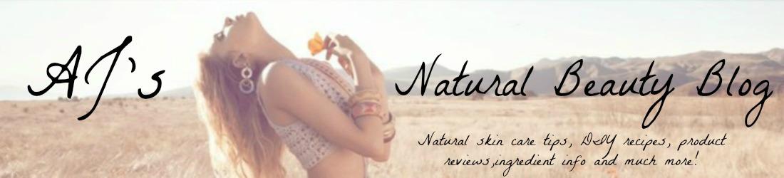 AJ's Natural Beauty Blog