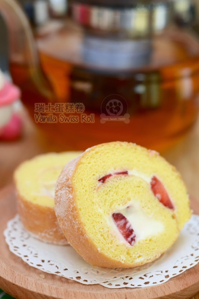 Fillings For Swiss Roll Cakes