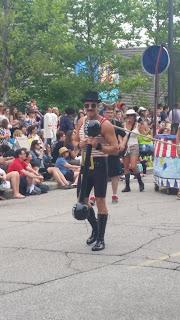 #ParadetheCircle, Strong Man