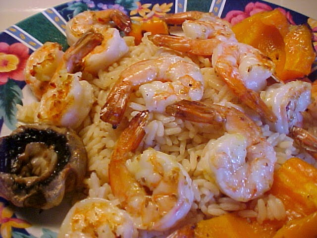 Brochettes de crevettes façon chinoise
