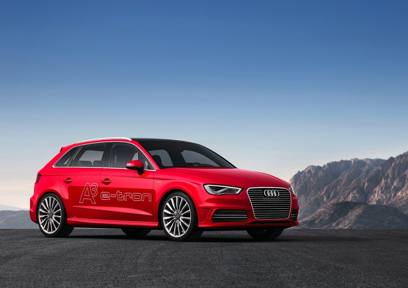 Audi A3 Sportback E Tron Plug In Parallel Hybrid