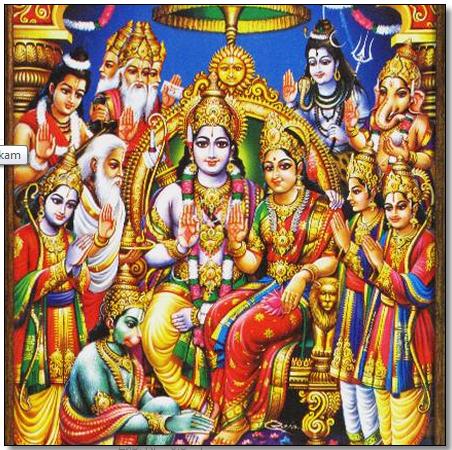 Rama Brother Bharata wife Mandavi in Ramayana