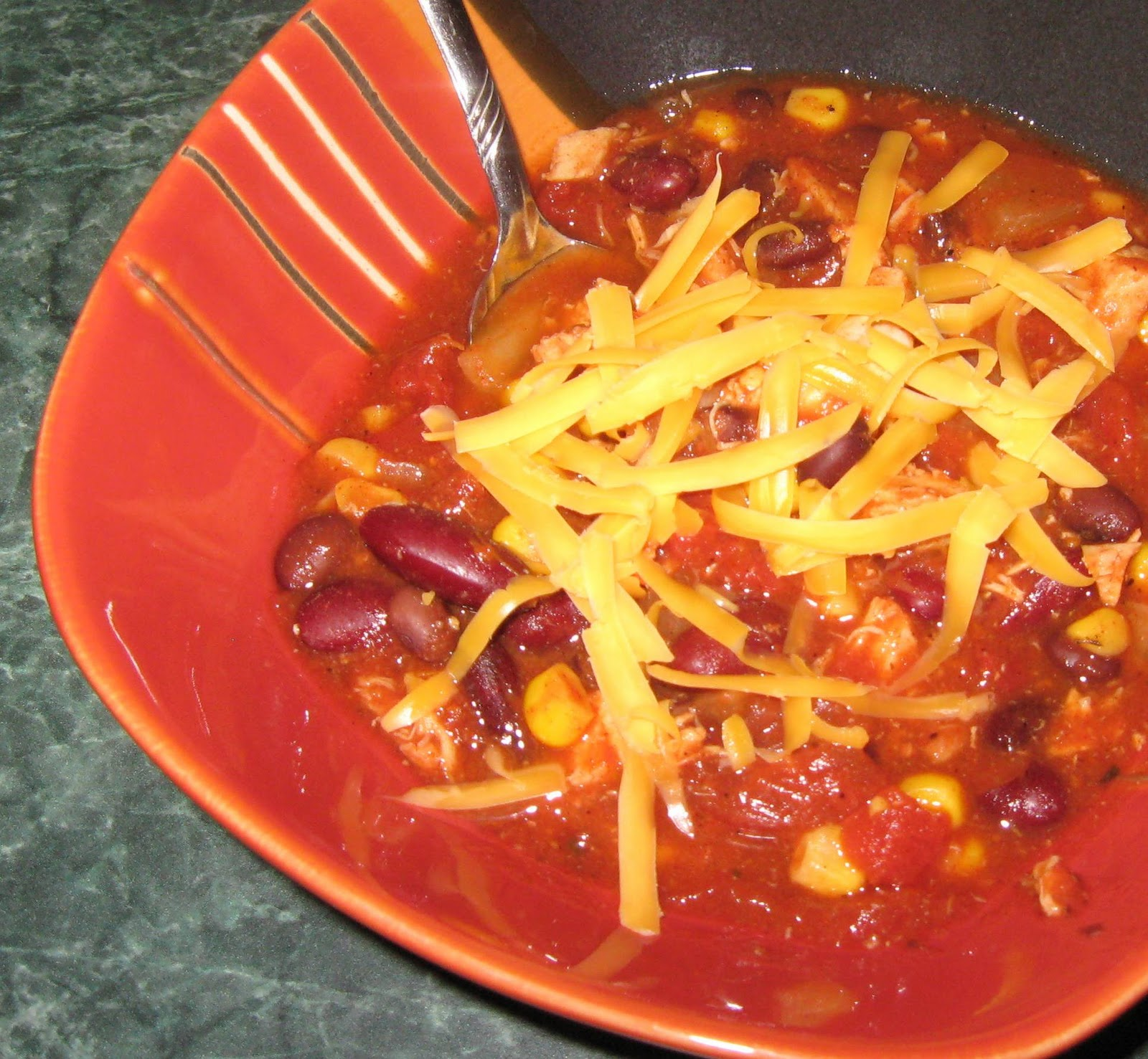 Debbi Does Dinner... Healthy & Low Calorie: Slow Cooker Taco Chili