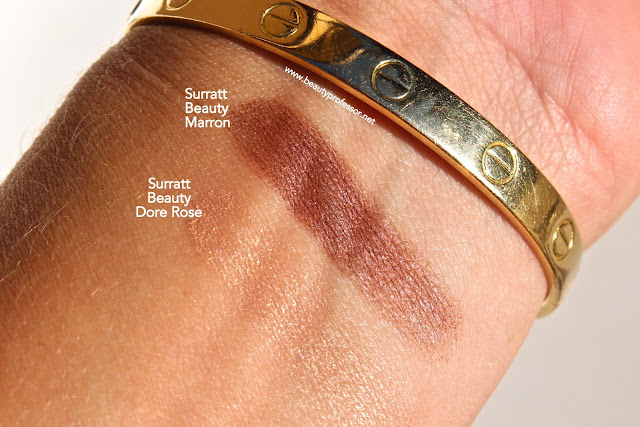 surratt dore rose swatches