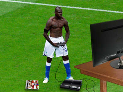 Balotelli Playstation
