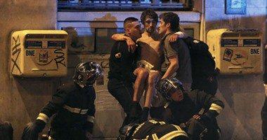 بالفيديو.. لحظة اقتحام الإرهابيين مسرح باتاكلان بفرنسا وسماع دوى الرصاص