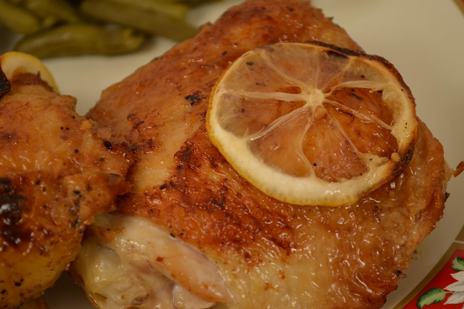 Taste of Alaska: Roasted Chicken Thighs with Lemon and Oregano