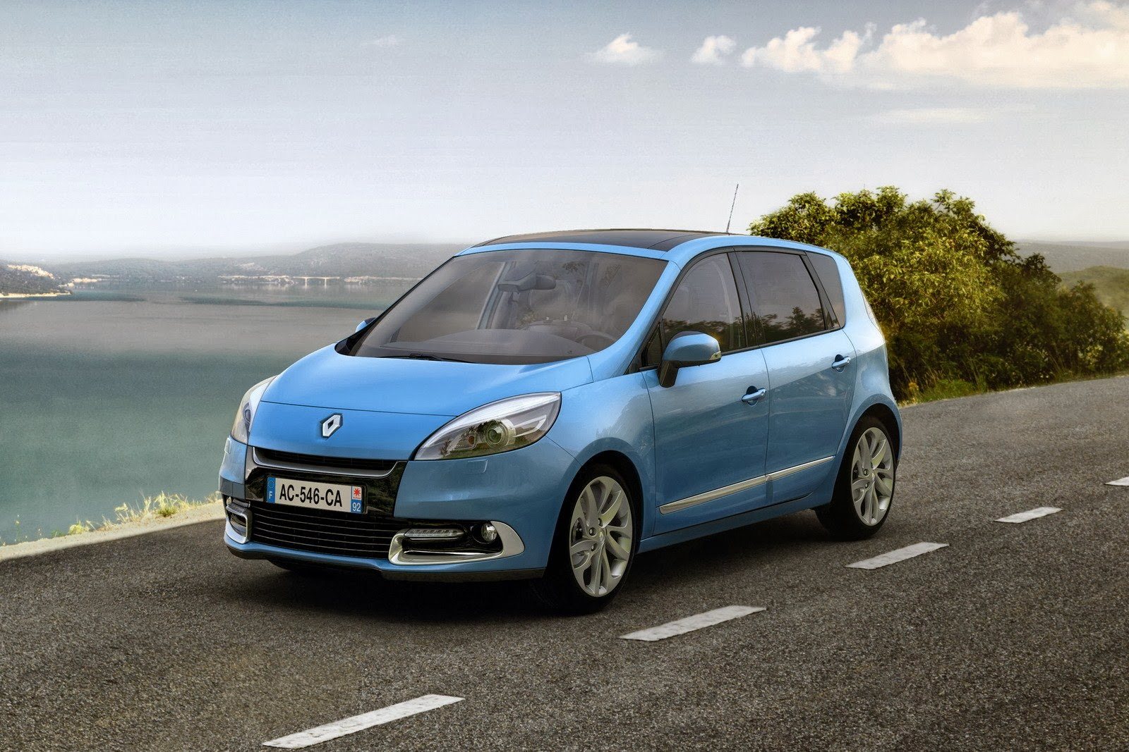 renault scenic car wallpaper. Black Bedroom Furniture Sets. Home Design Ideas