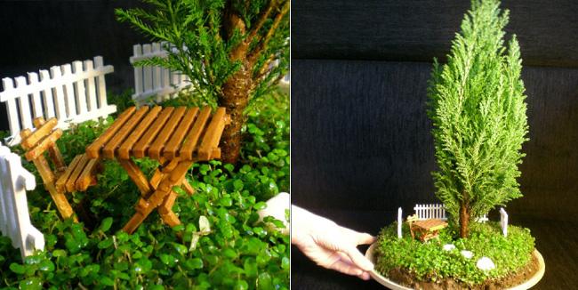 ozberk piensa que estos jardines en miniatura evocan la experiencia de la jardinera a mayor escala para ello cada paisaje est equipado con algn