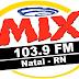 Ouvir a Rádio Mix FM 103,9 de Natal - Rádio Online