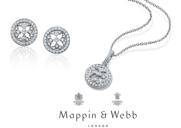 The Duchess Of Cambridge's MAPPIN and WEBB Earrings and Necklace