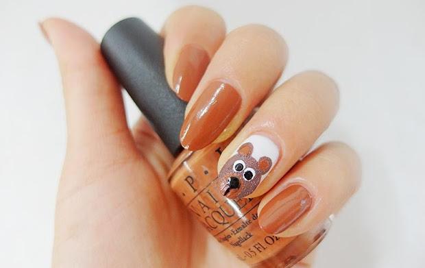 sara nail opi light brown