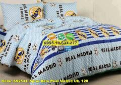 Harga Sprei Bola Real Madrid Uk. 120 Jual