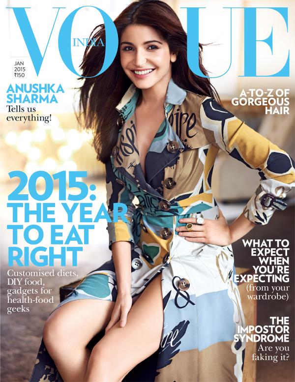Anushka Sharma Latest Hot Photoshoot For Vogue India January 2015