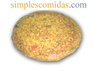 tortilla de arroz