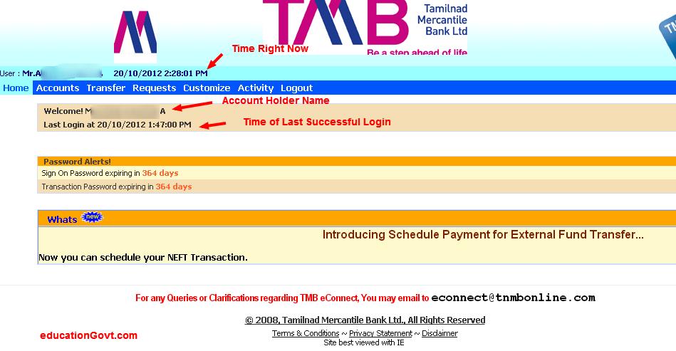 Centurylink Net Login >> Tmb Net Banking Login - Keywordsfind.com