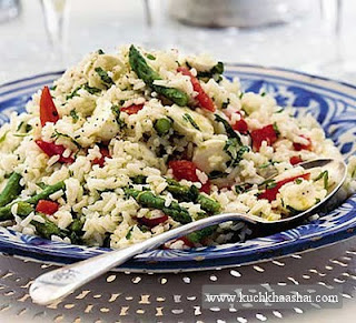 Mint Rice Salad