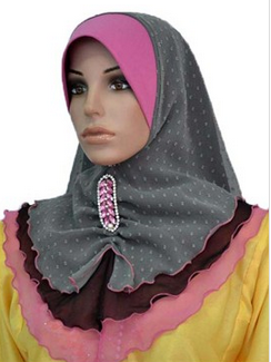 Shawl Worldz Collectionz : Tudung Chiffon 3 Layer Kasa Rubiah