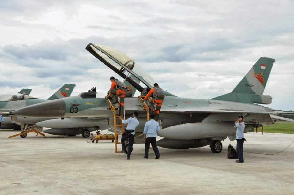 F-16 B Block 15 TNI AU