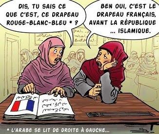Daniel Gheorghe 🔴 Scenariul transformării Franței într-un stat islamic e în plină derulare...