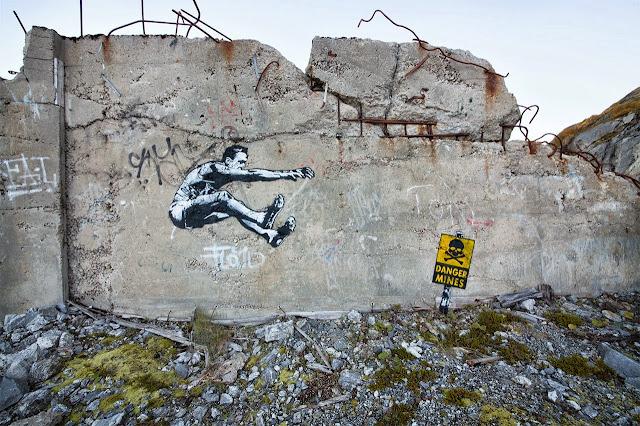 Norwegian Street Artist Dot Dot Dot Paints Several New Murals In Bodø, Norway. 4