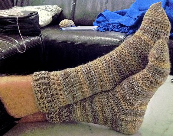 Crochet Sock Pattern