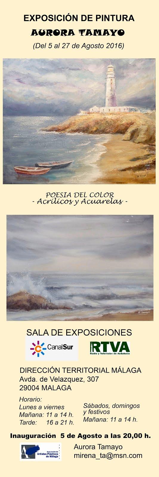 Exposicion de pintura en Málaga