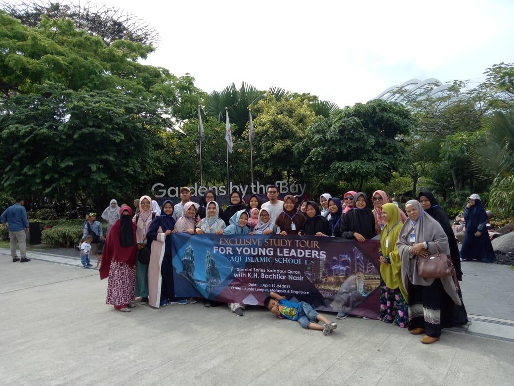 TOUR KUALALUMPUR SINGAPORE JOHORBAHRU 19-22 APRIL 2019 WITH AQL ISLAMIC SCHOOL